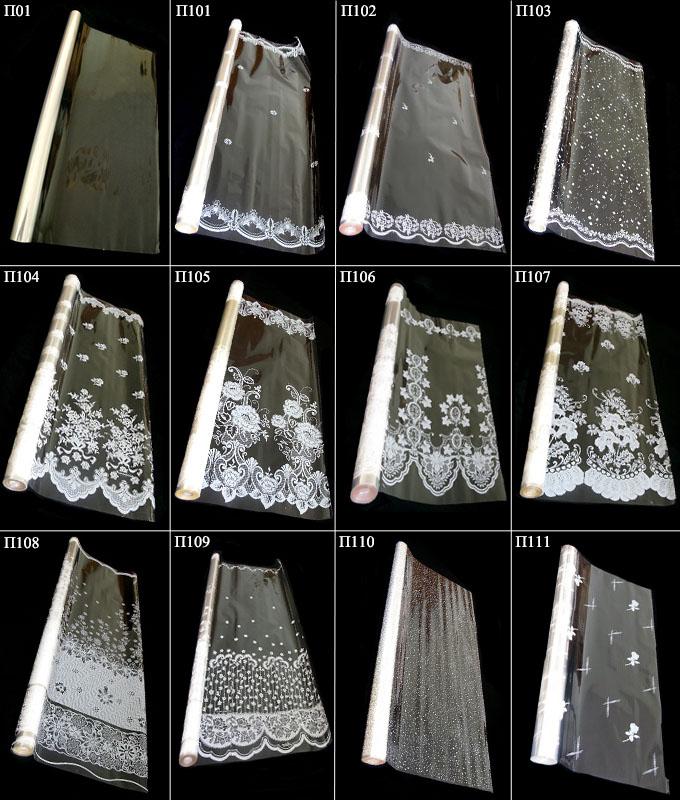 Прозрачная полипропиленовая пленка с рисунком П01 — П111
