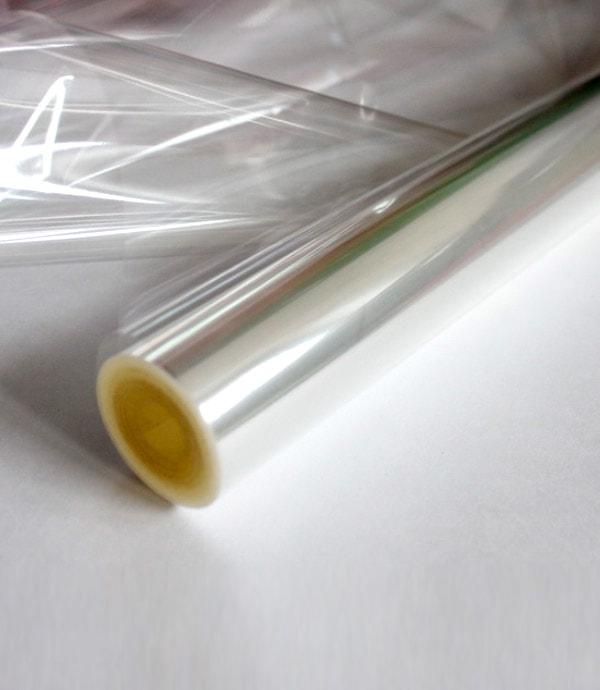 Пленка цветочная прозрачная, рулон 1 кг