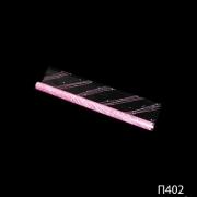 Полипропиленовая пленка с рисунком розового цвета