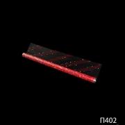 Полипропиленовая пленка с рисунком красного цвета