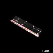 Цветочная пленка с печатью, рисунком розового цвета