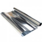 Пленка полипропиленовая металлизированная BOPP, серебряная, упаковочная, цветочная