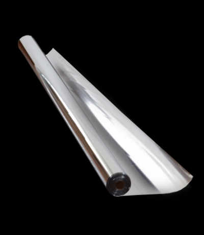 Пленка полипропиленовая металлизированная BOPP, серебряная